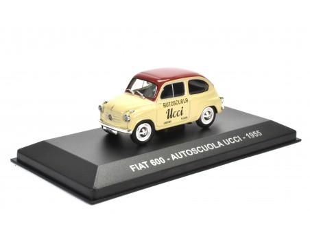 FIAT 600 - AUTOSCUOLA UCCI - 1955
