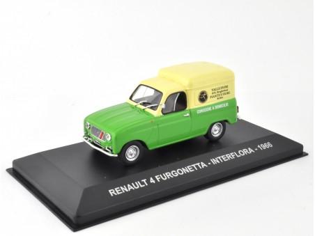 RENAULT 4 FURGONETTA INTERFLORA - 1966