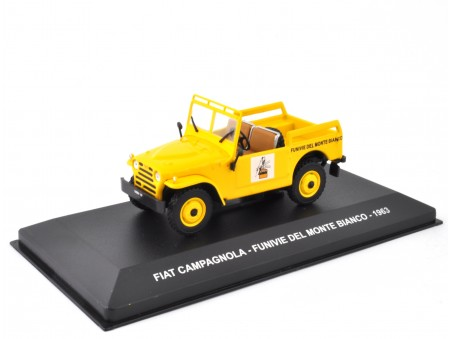 FIAT CAMPAGNOLA FUNIVIE DEL MONTE BIANCO - 1963