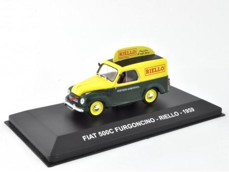 FIAT 500C FURGONCINO - RIELLO - 1959