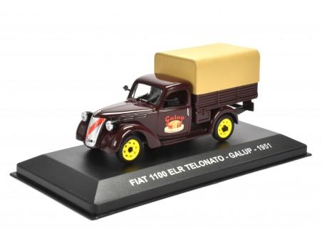 FIAT 1100 ELR TELONATO - GALUP - 1951
