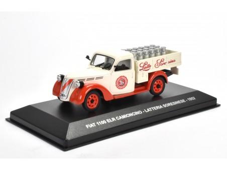 FIAT 1100 ELR CAMIONCINO LATTERIA SORESINESE - 1952