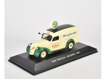 FIAT 1100 ELR - GALBANI - 1951