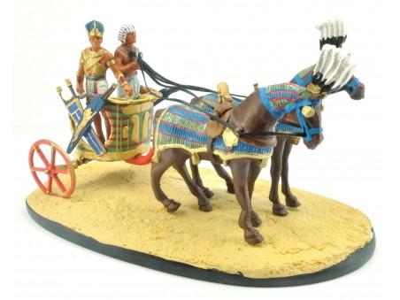 Il Faraone con il suo carro da guerra