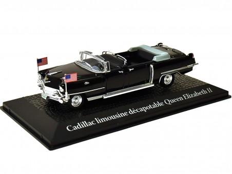 Cadillac limousine décapotable Queen Elizabeth II