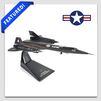 Jet Age Collectible item: Military Aircraft Lockheed SR-71 Blackbird