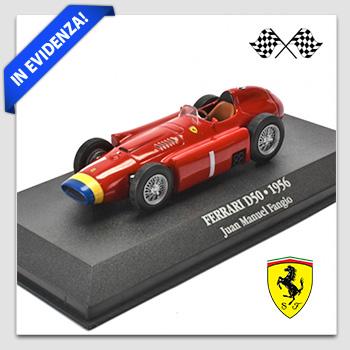 Prodotto in evidenza: Ferrari Formula 1 D50 del 1956